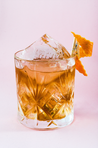 Salty Old-fashioned